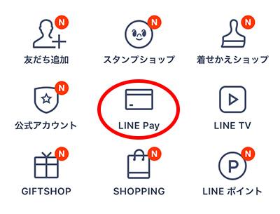 LINEのここからスタートラインペイ