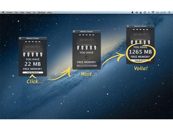 ZipZapMac's Memory Cleaner App