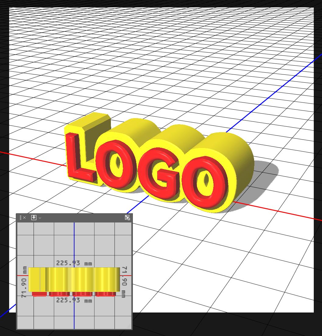 Photoshopで3D文字表現ゲーム風