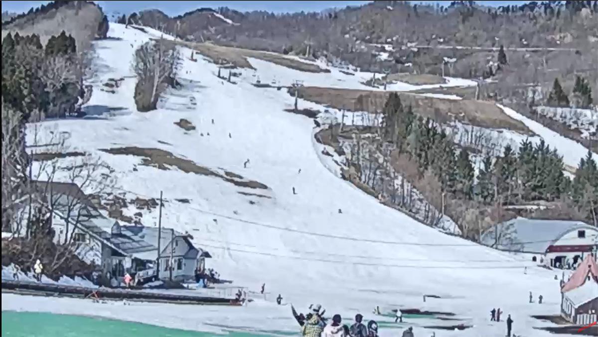 ハチ高原スキー場ライブカメラ