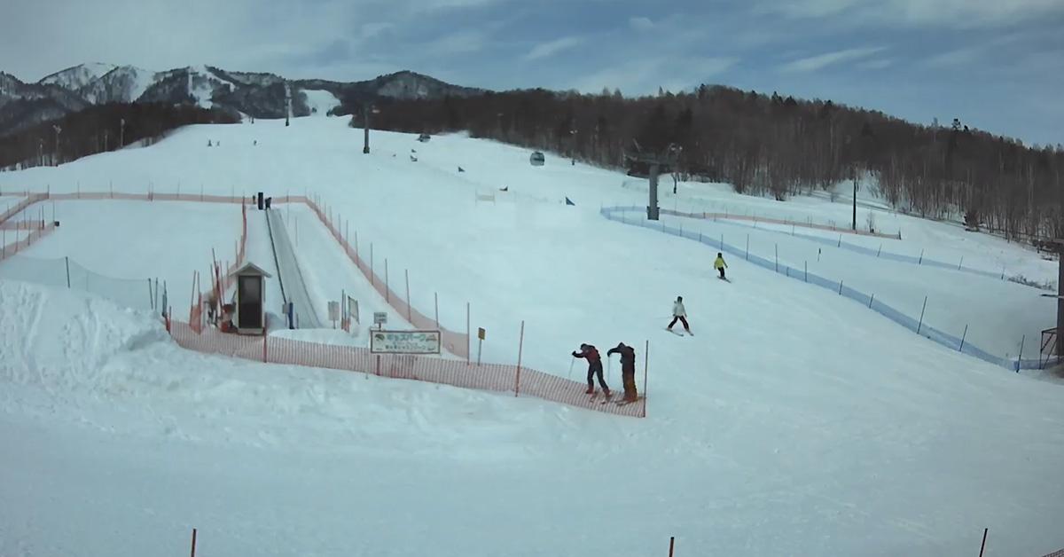 【富良野ライブカメラ】富良野スキー場 北の峰ゾーン